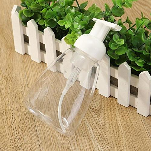plastic bathroom liquid soap foam