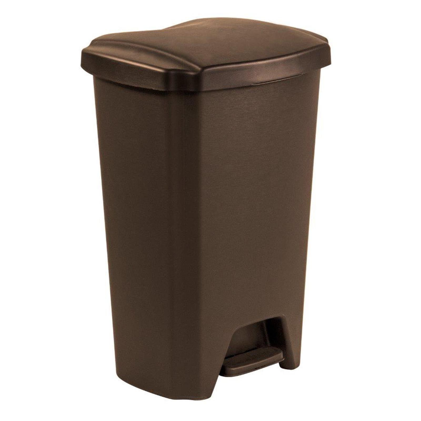 Plastic Trash Can Bin Waste Trash Containers
