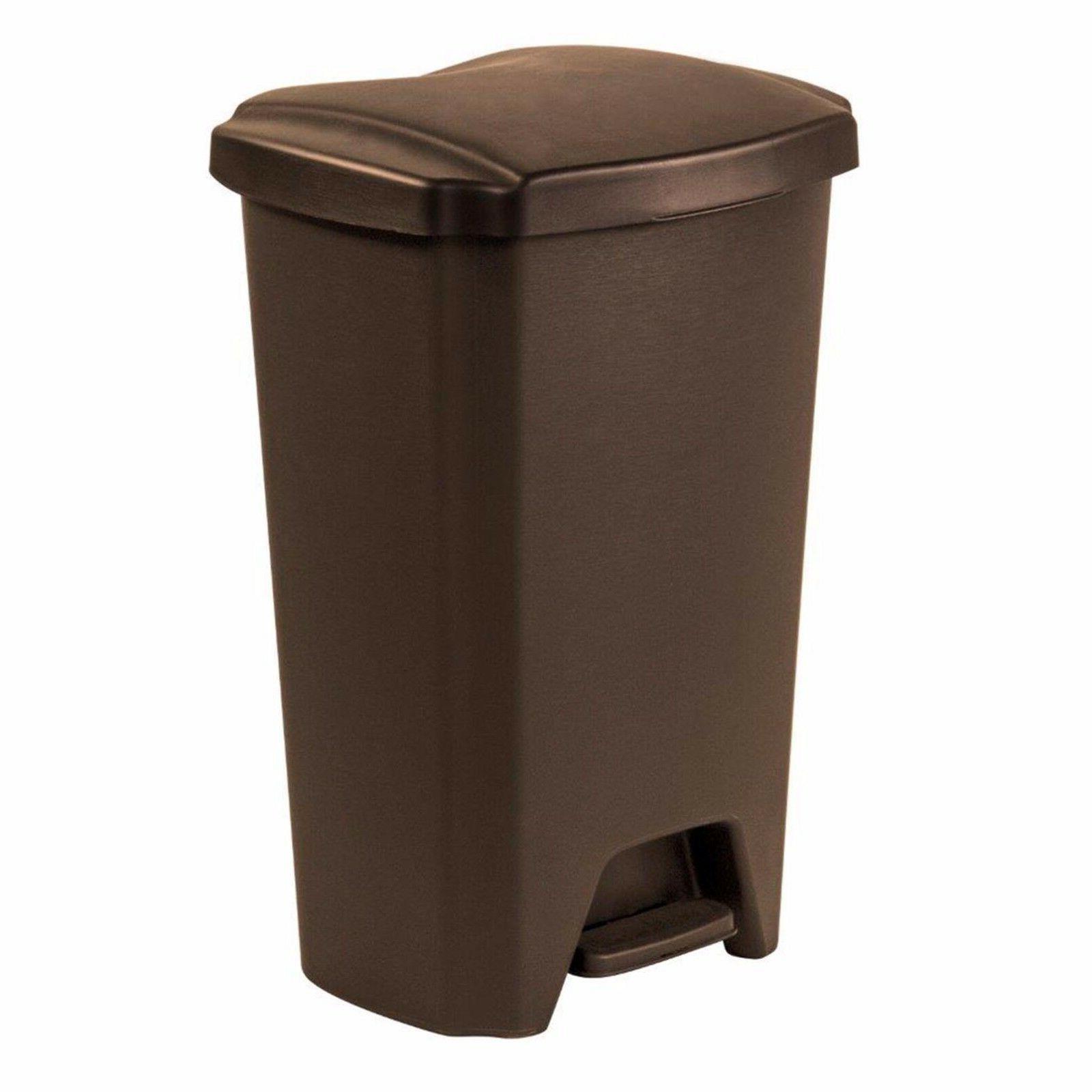 Plastic Bin 13 Gallon Trash Kitchen Basket