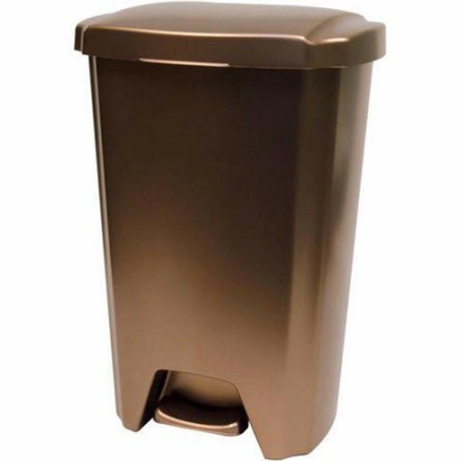 Plastic Can Garbage Bin Waste 13 Trash Kitchen Basket