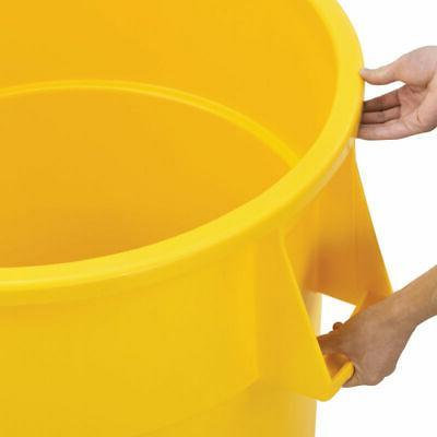 Plastic Can - 55 Gallon Yellow