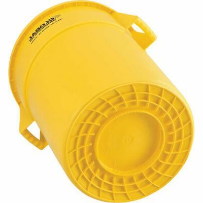Plastic Can - 55 Yellow