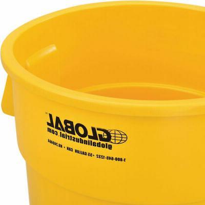 Plastic Trash Yellow