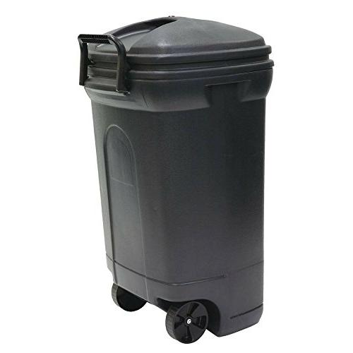 United 34 Plastic Wheeled Can - Pack