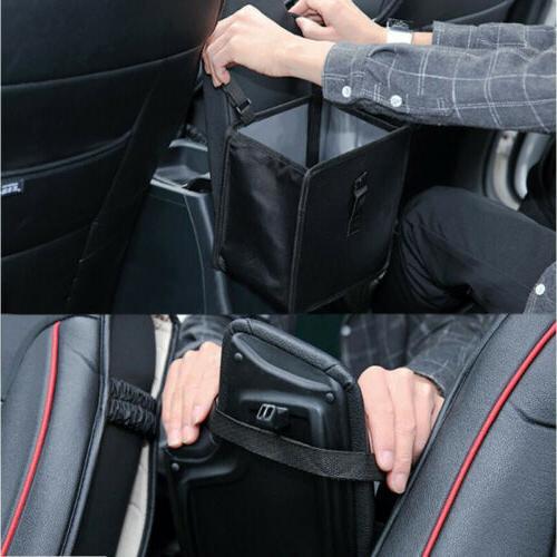 Portable Car Garbage Bag Black