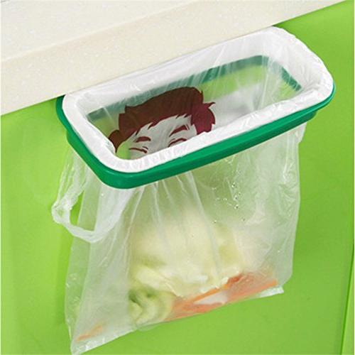 portable trash bag holder hanging