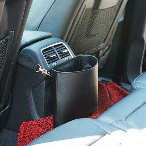 Car Trash Leather Car Auto Trash Bags 6L