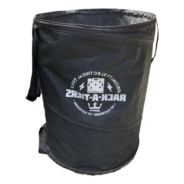 rack a tiers 51020 exploding garbage can