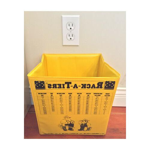 """Rack-A-Tiers 10"""" Collaspsible Folding Tool Bucket"""