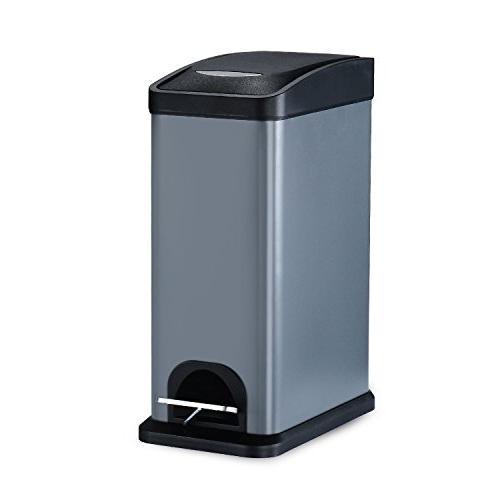 rectangular shape trash can