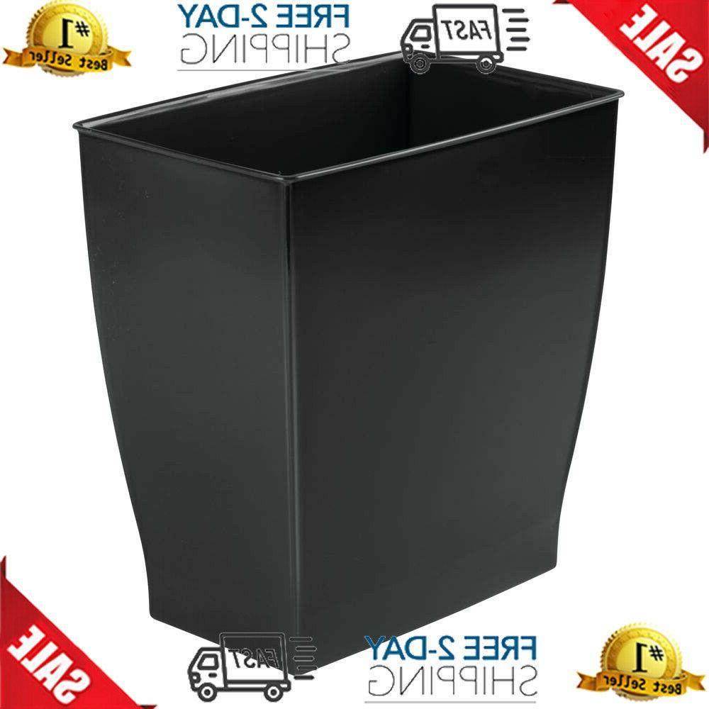 rectangular trash can waste basket garbage can