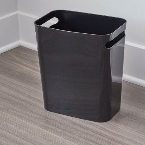Rectangular Trash Handles Basket Garbage Can