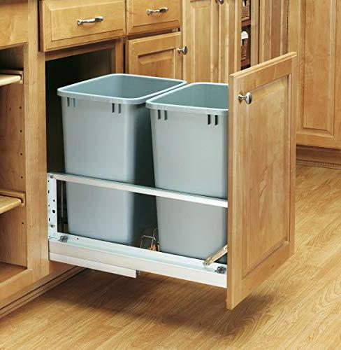 Rev-A-Shelf - Double Brushed Waste Container