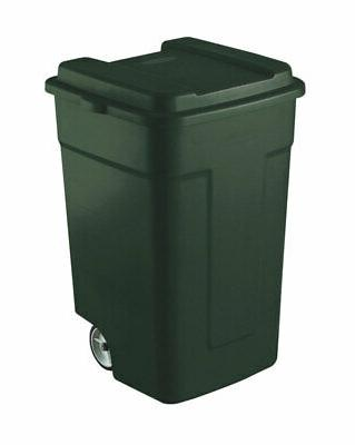 wheeled refuse container