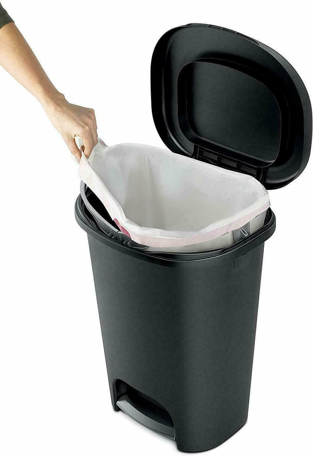 Rubbermaid Lid Can Gallon