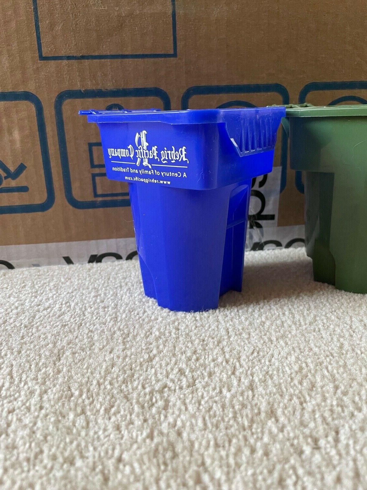 scrap mini garbage can one cart