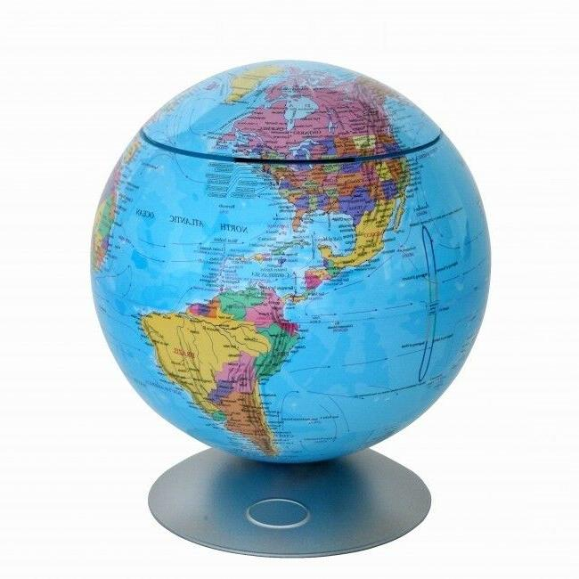 itouchless Sensor Activated 360 Globe Hidden Storage Contain