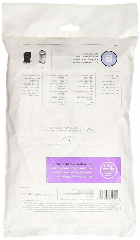 Simple Drawstring Bags 100pk Custom Fit 8 Code