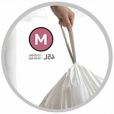 Simplehuman M Bags Extra Custom Fit L Garbage
