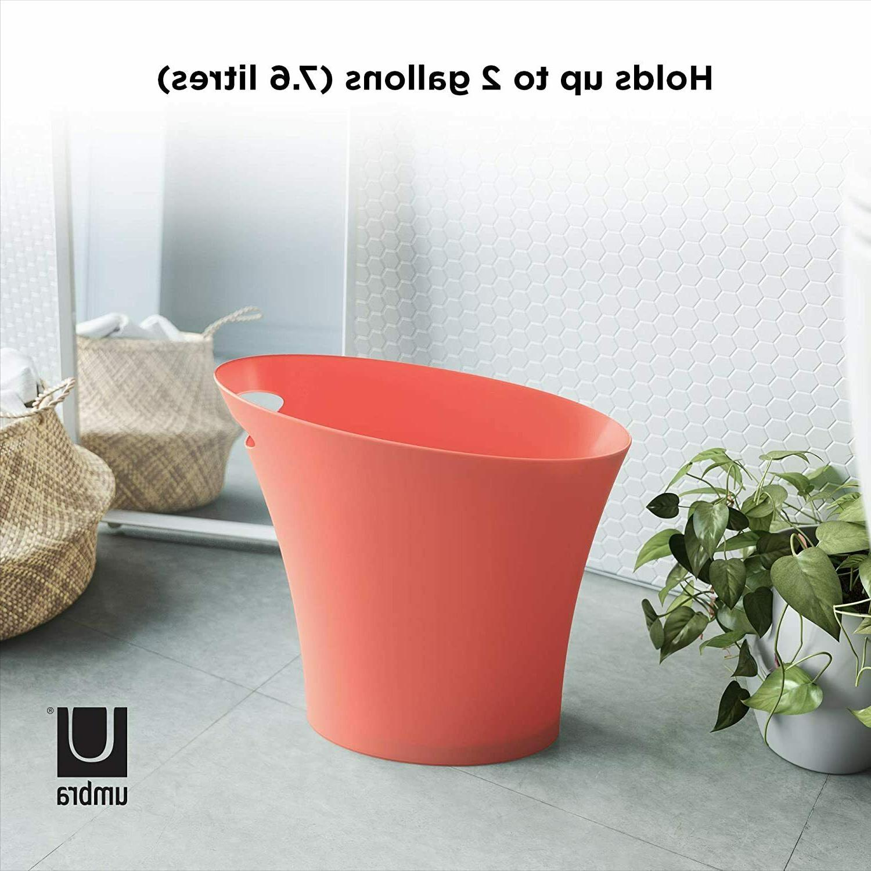 Umbra Coral Sleek & Stylish Bathroom Trash, Small