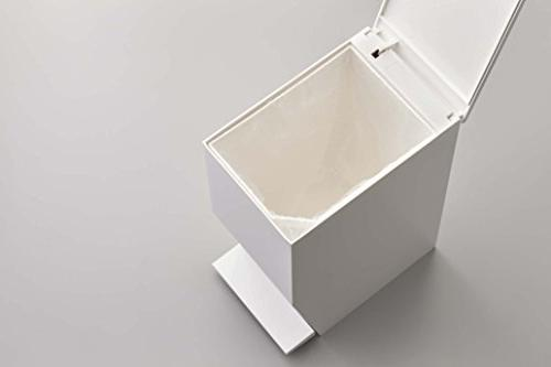 Can Bin Receptacle Waste for Home Toilet, White