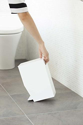 Small Can with Pedal, Bin Receptacle Waste for Home Toilet,