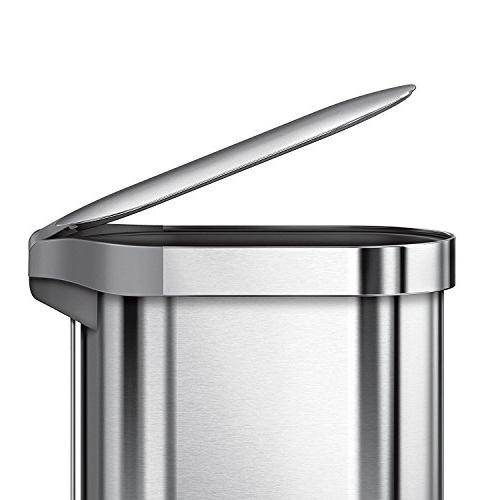 simplehuman Slim Step Brushed Stainless