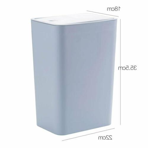 Trash Bin Toilet Wastebasket S/L Touch Home