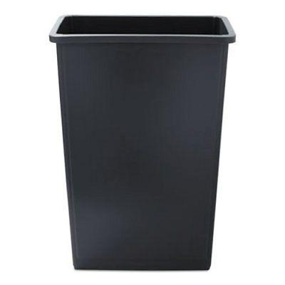 slim jim waste container 23 gal gray