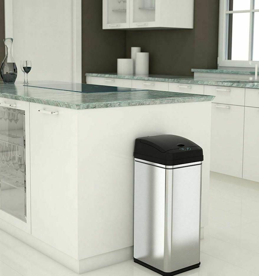 small automatic trash can touchless 13g lid