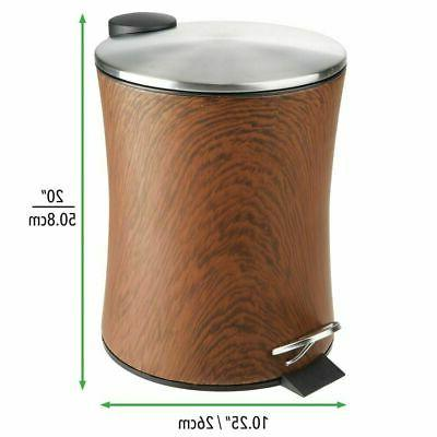 mDesign Step Can Bin, Removable