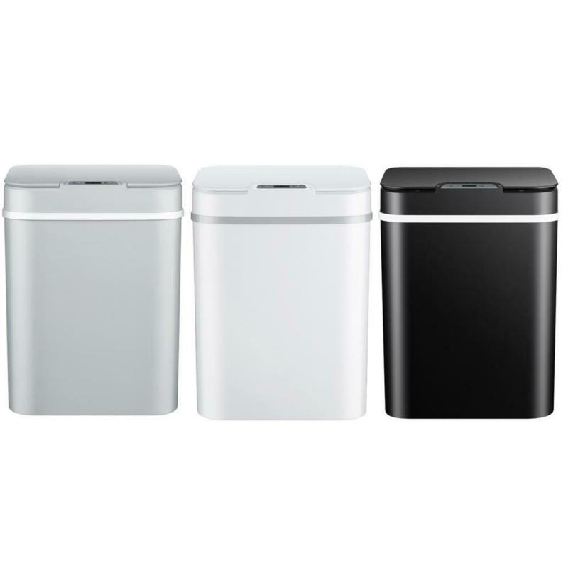 smart induction flip type trash can electric