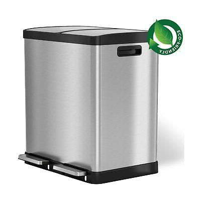 softstep trash can recycle bin