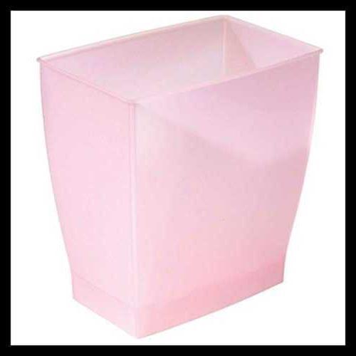 spa rectangular trash waste basket garbage can