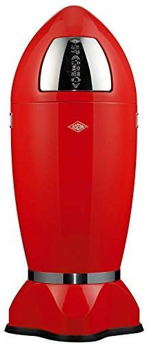 Wesco Spaceboy - German Made - X-Large Push Door Trash Can,