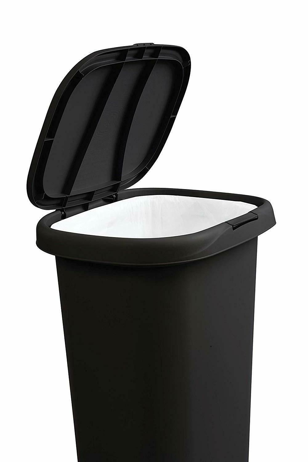 Rubbermaid Spring-Top Trash Can for Home, and