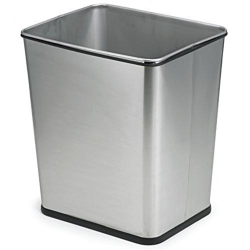 square trash can