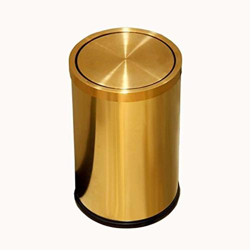 stainless steel clamshell lid golden