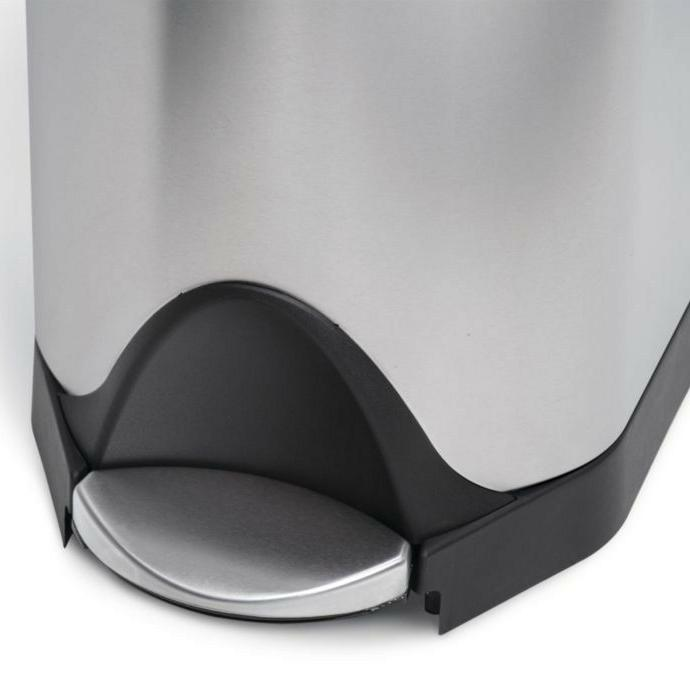 Simplehuman Stainless Steel Recycler Garbage Can Bin 40