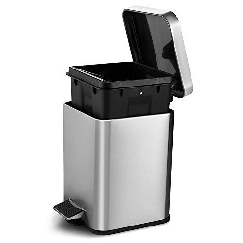 Deppon Kitchen Can Liters/1.6 Step Bin Bucket for Office