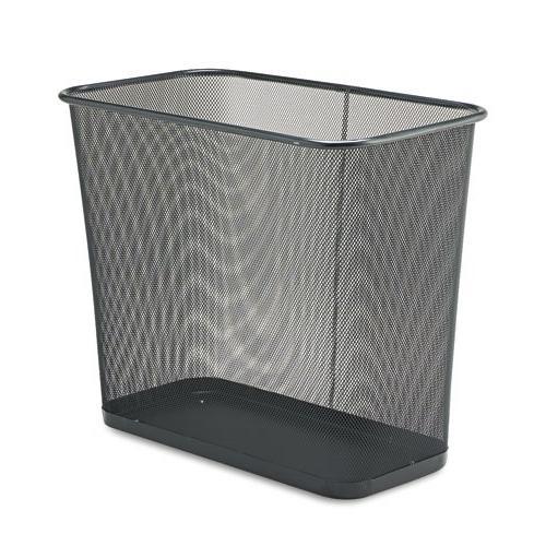 steel mesh wastebasket