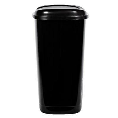 Black Can Gallon Foot Kitchen Garbage