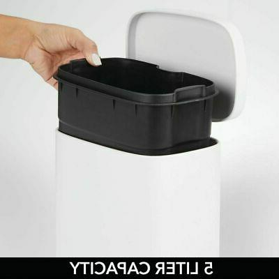 Garbage Bin with Removable Liner Bucket