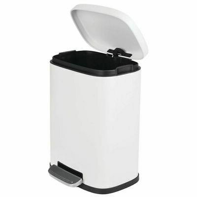 mDesign Garbage Bin Removable Liner Bucket