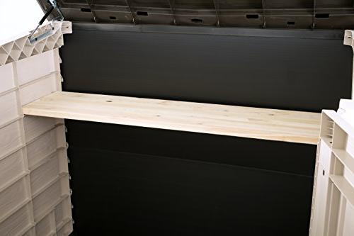 Keter 226814 4.8 x Outdoor Resin Storage 50 cu.ft.