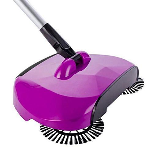 Bestomz Sweeper Floor Sweeper Hand Push Broom