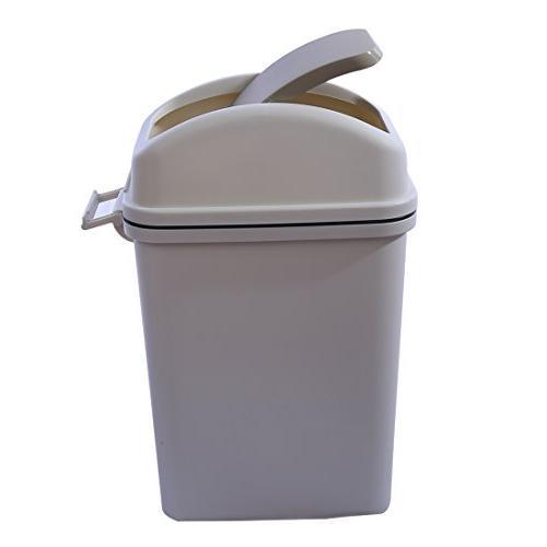 6 liter plastic swivelling cover