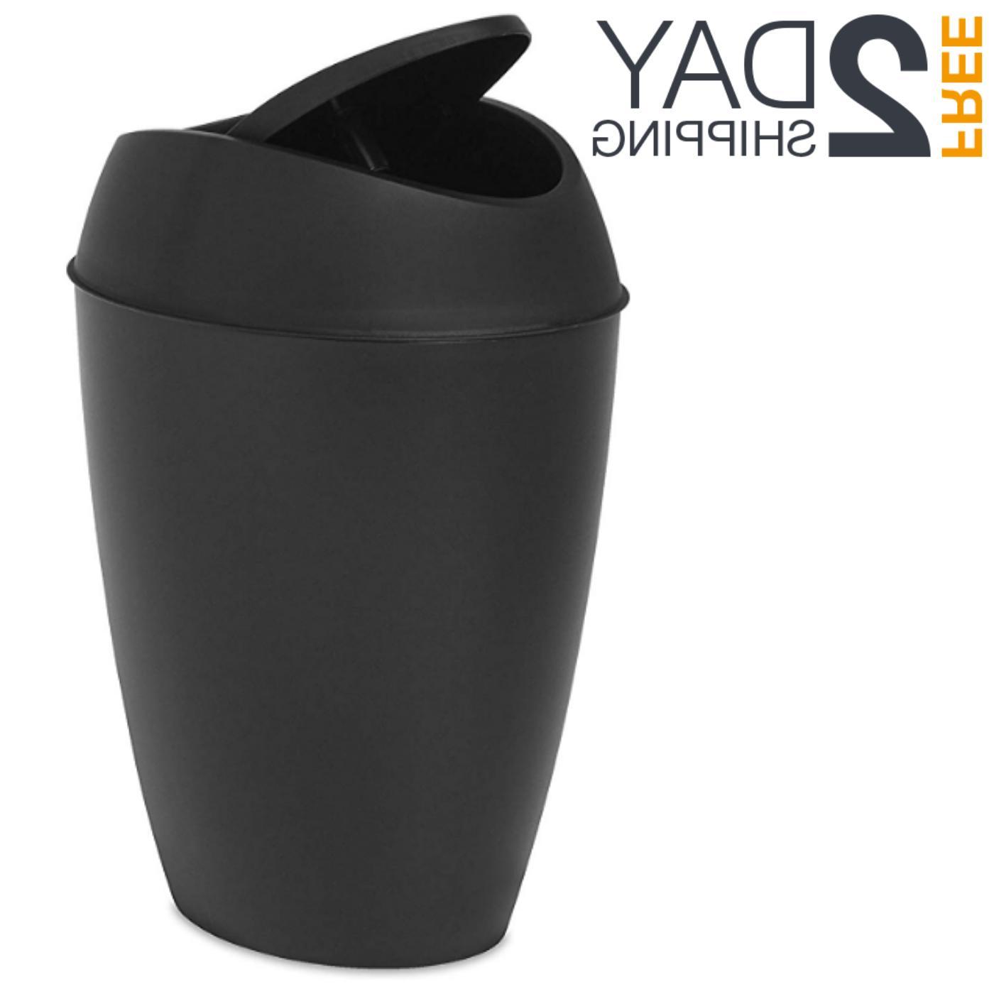 swing top lid kitchen bathroom office trash