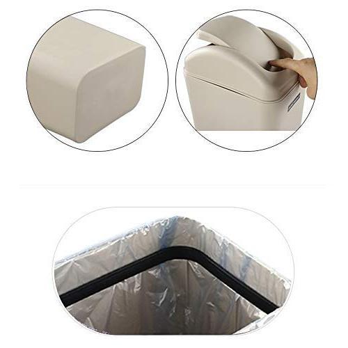Utiao Trash Garbage Bins for Office,