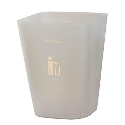 Topgalaxy.Z Waste bin, 6 Liter/1.6 Gallon Plastic Trash Can,